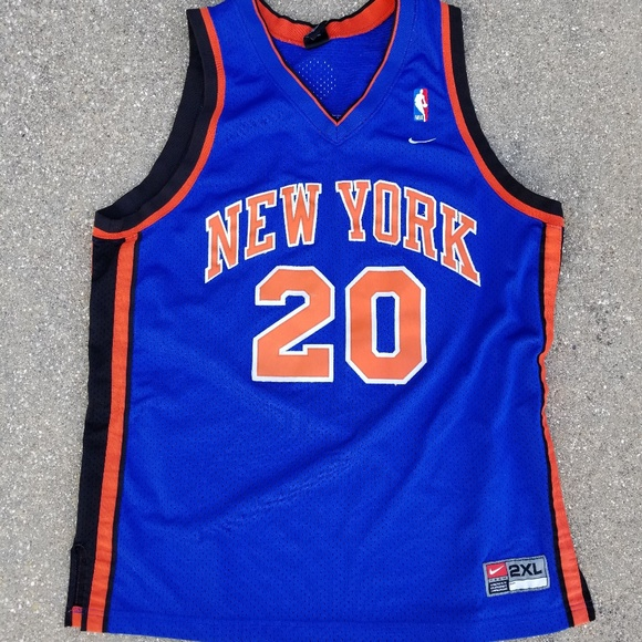 official photos 601ee bae58 Alan Houston New York Knicks jersey